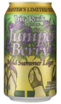 Big Rock Juniper Berry Mild Summer Lager