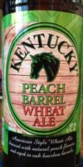 Kentucky Peach Barrel Wheat