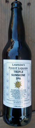 Lawson�s Finest Triple Sunshine IPA