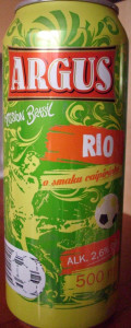 Argus Mission Brasil Rio: caipirinha