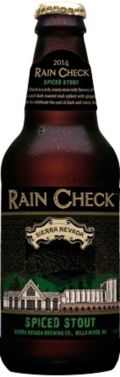 Sierra Nevada Rain Check Spiced Stout