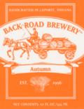 Back Road Autumn Ale 2003 (and earlier) - Oktoberfest/M�rzen