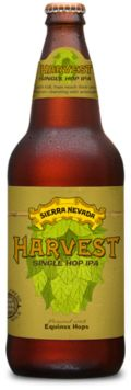 Sierra Nevada Harvest Single Hop IPA - Equinox