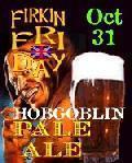 Barley�s Hobgoblin Pale Ale