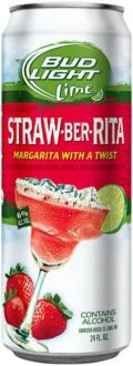 Bud Light Lime Straw-Ber-Rita (6%)