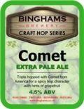 Binghams Extra Pale Ale Comet