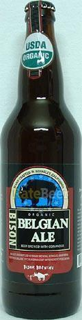 Bison Organic Belgian Ale