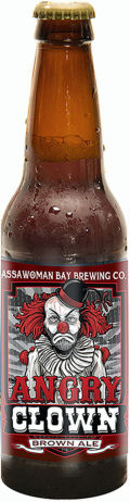 Assawoman Bay Angry Clown Brown Ale