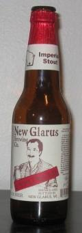 New Glarus Unplugged Imperial Stout - Imperial Stout
