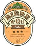 Biere dOlt Ambree