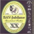 Scheldebrouwerij BAV-Jubilator - Belgian Ale
