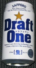 Sapporo Draft One