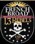 French Broad 13 Rebels ESB