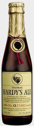 O�Hanlon�s Thomas Hardy�s Ale (2003 - 2008)