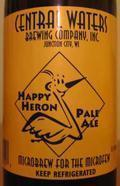 Central Waters Happy Heron Pale Ale