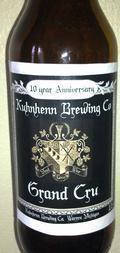 Kuhnhenn Grand Cru - Belgian Strong Ale