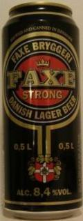 Faxe Strong Danish Lager