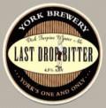 York Last Drop Bitter