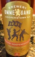 Ommegang 2015 Belgian Independence Day Dry-Hopped Tripel