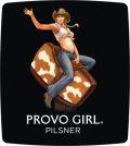 Wasatch Provo Girl Pilsner