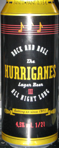 Laitilan The Hurriganes Lager Beer