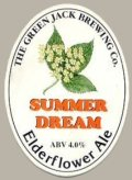 Green Jack Summer Dream  - Golden Ale/Blond Ale