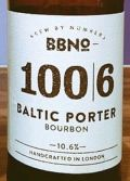Brew By Numbers 100/6 Baltic Porter - Bourbon