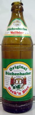 Herold B�chenbacher Beckn Bier Vollbier
