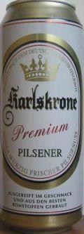 Karlskrone Premium Pilsener - Pilsener