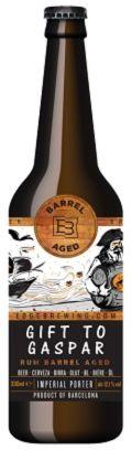 Edge Brewing / Cigar City Gift To Gaspar - Barrel Aged