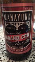 Manayunk Grand Cru - Belgian Strong Ale