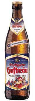 Stuttgarter Hofbr�u Weihnachts-Bier - Oktoberfest/M�rzen
