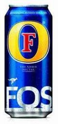 Fosters (UK) - Pale Lager