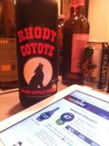 Newport Vineyards Rhody Coyote Hard Apple Cider