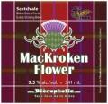 Bi�ropholie MacKroken Flower - Scotch Ale