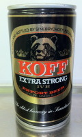 Sinebrychoff Koff Extra Strong Beer IV B