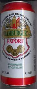 Damburger Export - Pale Lager
