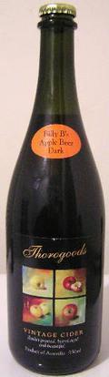 Thorogoods Billy Bs Dark Malted Apple Beer