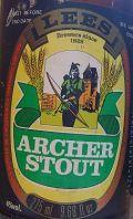 J.W. Lees Archer Stout - Mild Ale