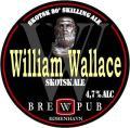 Brewpub K�benhavn William Wallace - 80 Skilling Ale - Scottish Ale