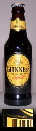 Guinness Foreign Extra Stout (Jamaica/Kenya/Tanzania)
