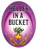 Wild Onion Helles in a Bucket