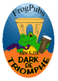 Frog Beer Dark De Triomphe
