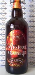 Saint-Omer R�serve du Brasseur Biere Ambr�e - Bi�re de Garde