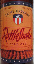 Pony Express Rattlesnake Pale Ale - American Pale Ale