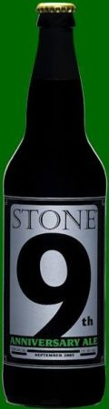 Stone 9th Anniversary Ale - American Strong Ale