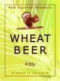 Red Squirrel English Wheat Beer - German Hefeweizen