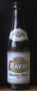 Bavik Dinner Beer Faro