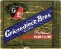Griesedieck Brothers Golden Pilsener