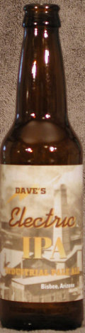 Electric Daves IPA (Industrial Pale Ale)